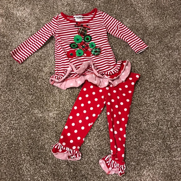 01d889accc Bonnie Jean Matching Sets Toddler Girl Christmas Outfit Poshmark